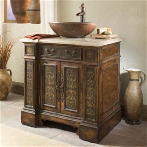 esperanza vessel sink chest western bath vanities free