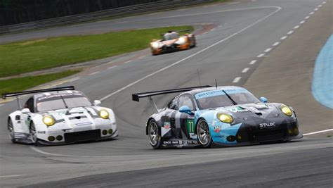 Le Mans Porsche 919 hybrid als titelverteidiger in le mans