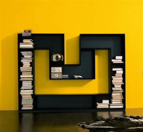 creative and unique bookshelves designs