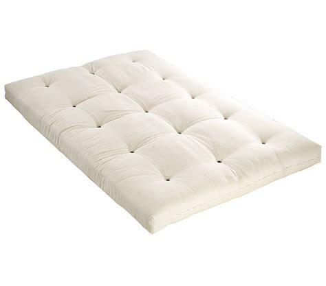 matelas coton matelas futon ecru en coton