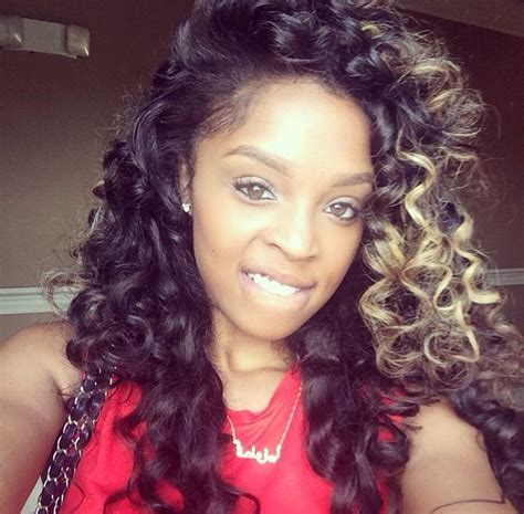 center part weave hairstyles loving the blacks and whites and the simple layered