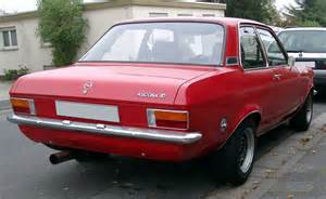 Opel Ascona 1970 Opel Ascona Related Infomation Specifications Weili