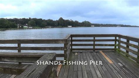 pier j fishing shands fishing pier st johns river youtube