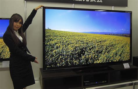 Tv Aquos 80 Inch sharp introduces new lcd tvs using quattron technology nikkei technology