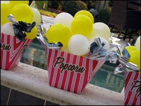 popcorn centerpieces art fair pinterest