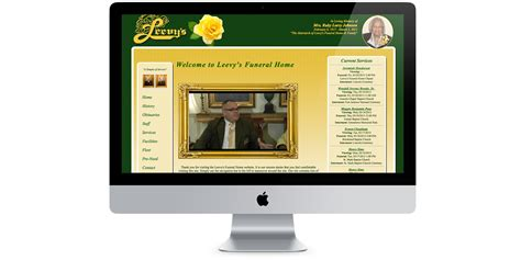leevys funeral home greene designs