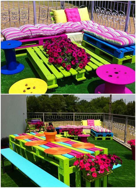 ideas para decorar un jardin con llantas de coche 20 fant 225 sticas ideas para decorar tu jard 237 n con objetos