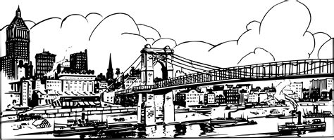 city background coloring page click here