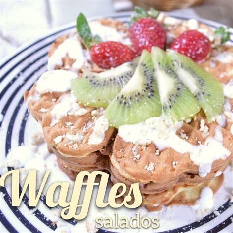 como decorar waffles m 225 s de 25 ideas incre 237 bles sobre waffles salados en