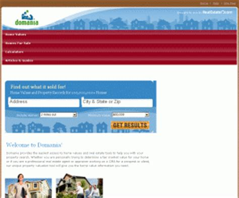 domania check home sale prices find your home value