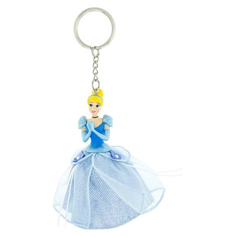 Ke 080 Keychain Princess Cinderella your wdw store disney keychain tulle dress princess cinderella