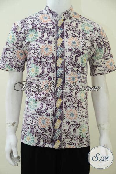 Kemeja Batik Pria Kerah Sanghai trend busana pria muda til beda kemeja batik koko kerah shanghai bahan halus motif bagus