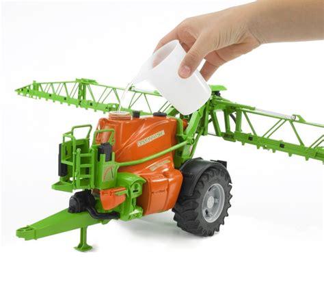 bruder farm toys bruder 02207 amazone trailed crop sprayer farm toys online