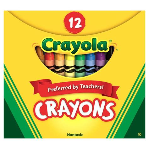 Set Of 12 Crayons crayola 174 crayons set of 12 web exclusives eai education