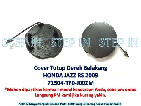 Tutup Cover Towing Hook Bumper Depan Jazz S Rs 03 25 16 pinassotte