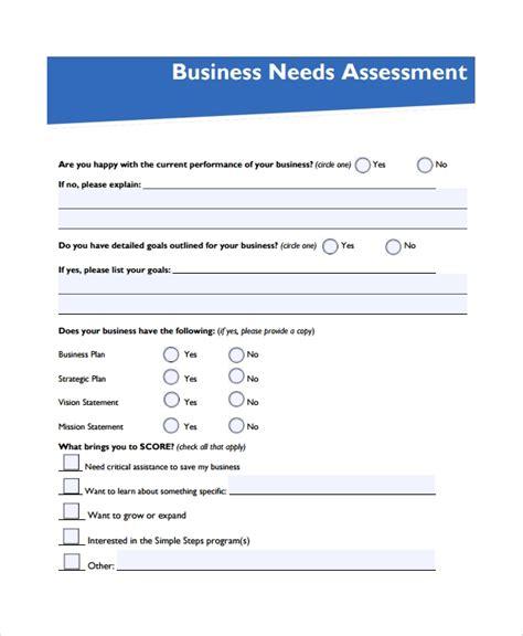 sample  assessment  documents  word