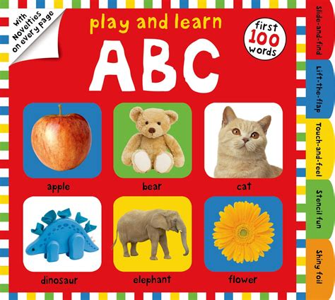 Play And Learn Book by Play And Learn Abc Roger Priddy Macmillan