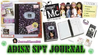 toy unboxing project mc 178 adisn spy notebook ep 6