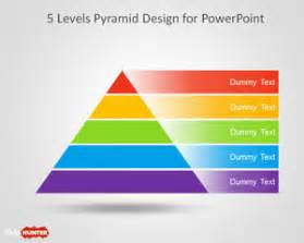 free 5 level pyramid template for powerpoint free