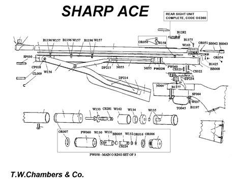 Seal Sharp Barrel ace sharp airgun spares chambers gunmakers airgun
