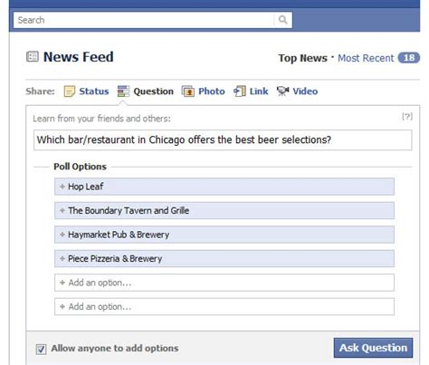 facebook friends questions images q and a the crowdsourced way with facebook questions