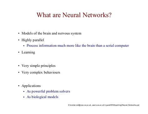 pattern recognition and neural networks lecture artificial neural networks and pattern recognition