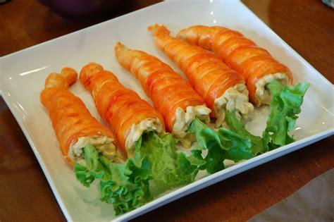 restlessrisa easter dinner carrot rolls resurrection rolls