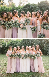 blush colored bridesmaid dresses best 25 blush colored bridesmaid dresses ideas only on