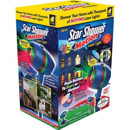 as seen on tv star shower laser motion christmas lights