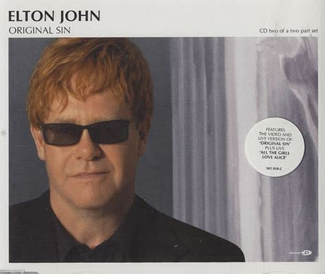 elton john original sin elton john original sin part 2 europe cd single cd5 5
