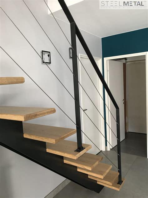 Escalier Droit Metal by Escalier Droit Metal Et Bois Fabrication Et Distribution