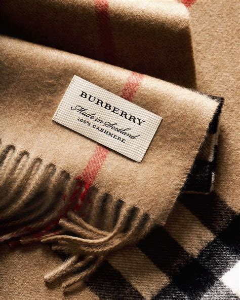 made in scotland burberry scarves are woven by
