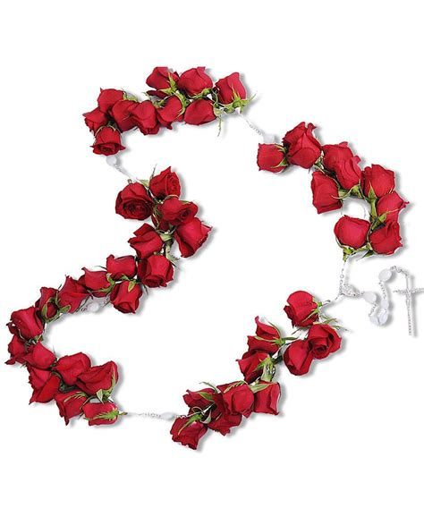 rosary from flowers sympathy casket rosary for lid quot the last rosary quot walter