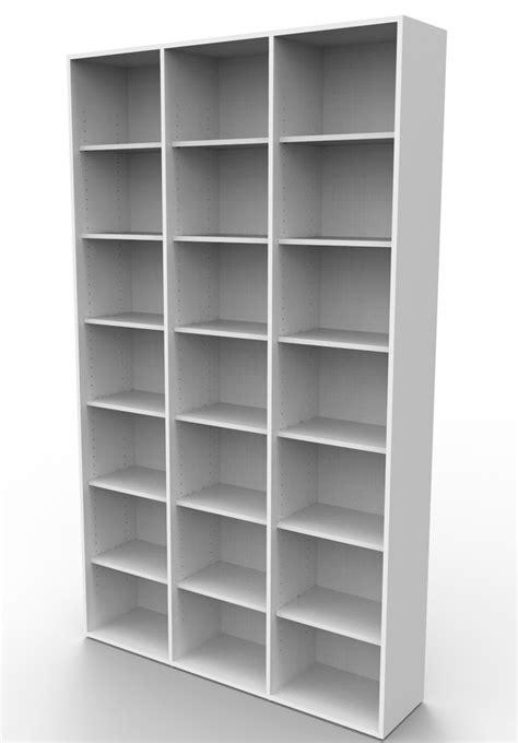 b 252 rohaus estante para colecionador cd dvd e livros
