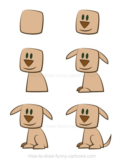how to draw a puppy easy step 6 how to draw a easy brown hairs