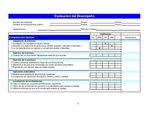 florida evaluacin del desempeo evaluacion del desempe 241 o laboral