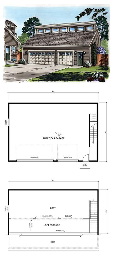 Carport Plans 1040 by 27 Best 3 Car Garage Plans Images On
