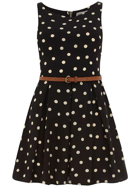 Dot Dress black polka dot belted dress casual dresses dresses dorothy perkins united states