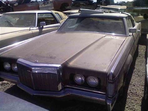 1971 lincoln continental for sale 1971 lincoln continental for sale classiccars cc