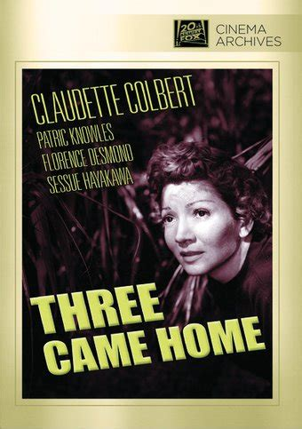 three came home screen dvd r 1950 starring