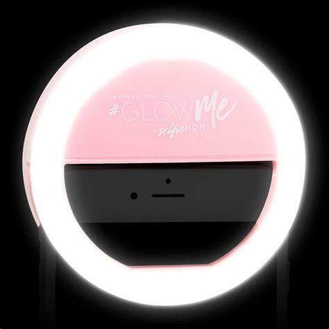 Ring Light Selfie Led 1 impressions vanity 174 glowme led selfie ring light for