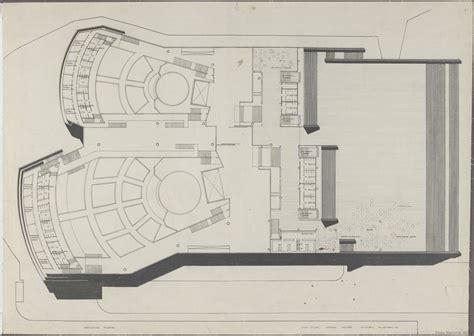 House Ground Floor Plan Design by Sydney Opera House Utzon Drawings State Records Nsw