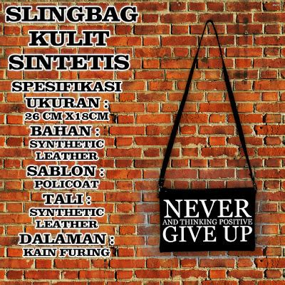 Slingbag V Hitam Tas Selempang Murah Sling Bag Tas Wanita jual tas kanvas murah 081222234204