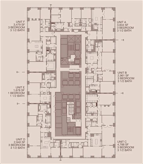 floor plans chicago 900 michigan floor plans chicago usa