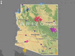 arizona land use map ancient arizona the arizona experience landscapes