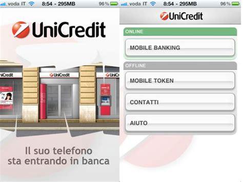 unicredit conto corrente unicredit conto corrente a portata di dito iphoner