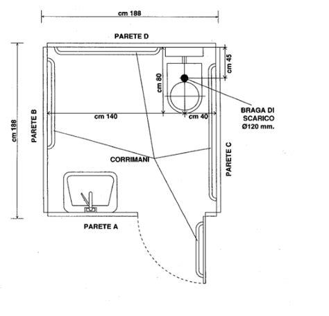 bagno handicappati misure minime bagni disabili misure minime avec bagno per trova le