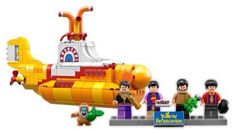 seit wann gibt es lego ab sofort gibt es die beatles und ihre yellow submarine