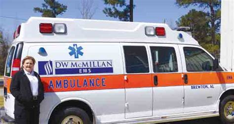 Jefferson Davis Hospital Birth Records Dwm Adds New Ambulance To Fleet The Brewton Standard