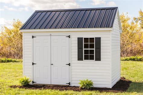10x12 Storage Shed 10x12 Vinyl Cottage Storage Shed Byler Barns